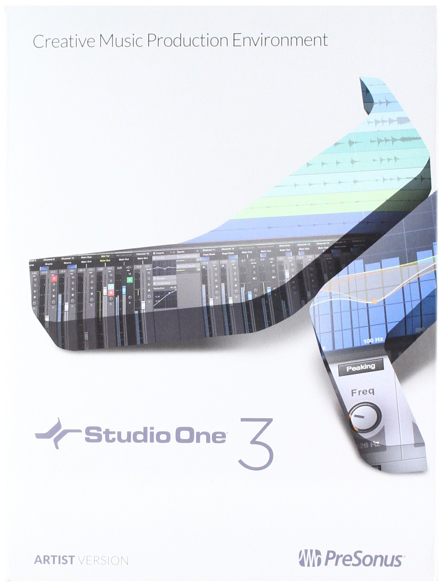 PreSonus Studio One 3 Artist Recording and Production Software (License Code + Quick Start) by PreSonus