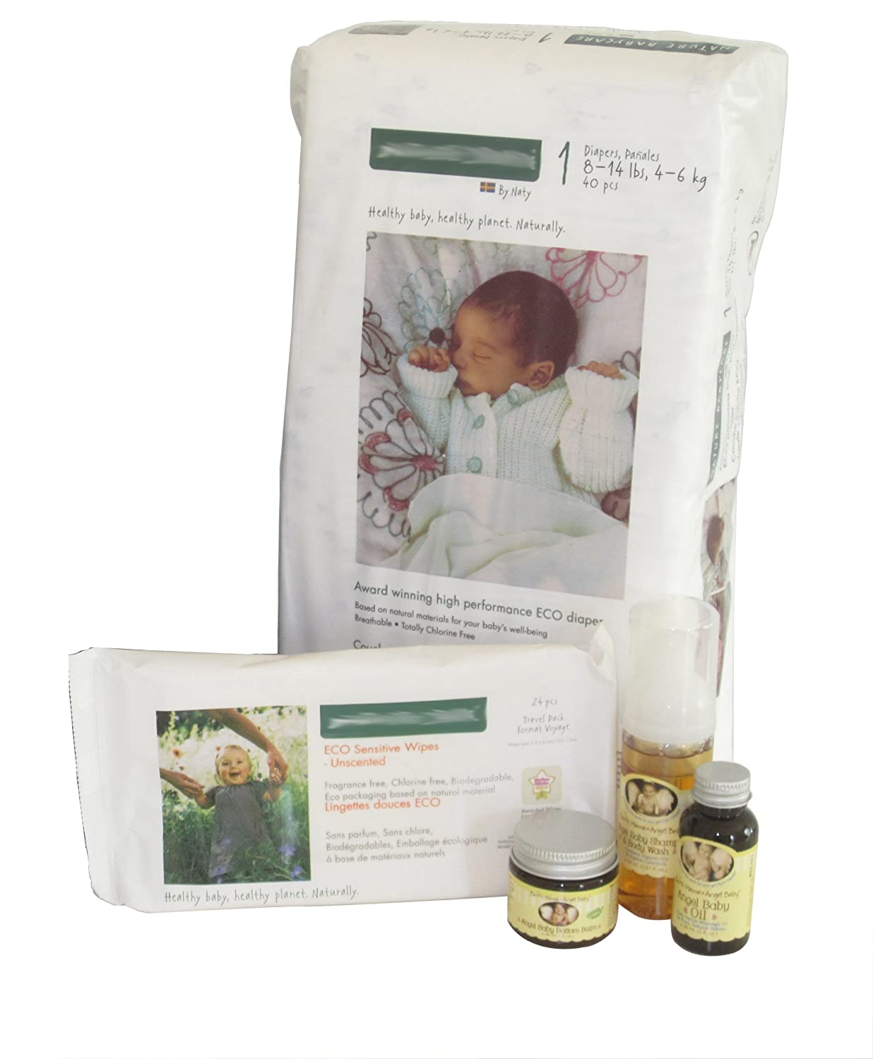 Amazon.com: All Natural Baby Bag - Prepacked Hospital Labor Bag - Unique Baby Shower Gift - Make Babies First Bath An All Natural One: Health & Personal ...