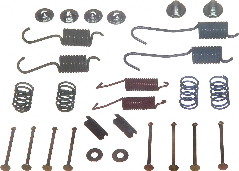 Rear Wagner H7216 Drum Brake Hardware Kit