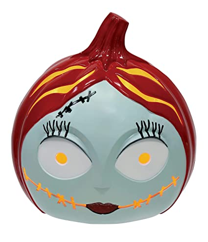 Disney W80461 The Nightmare Before Christmas Sally 6quot Light Up Pumpkin One Size