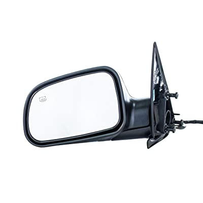 Dependable Direct Left Driver Side Textured Heated Mirror for 99-04 Jeep Grand Cherokee - Parts Link # CH1320169: Automotive