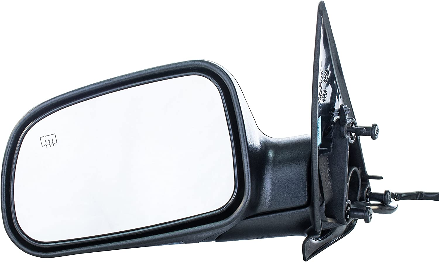 99 00 01 02 03 04 Jeep Grand Cherokee Right Side Power Door Mirror Heated