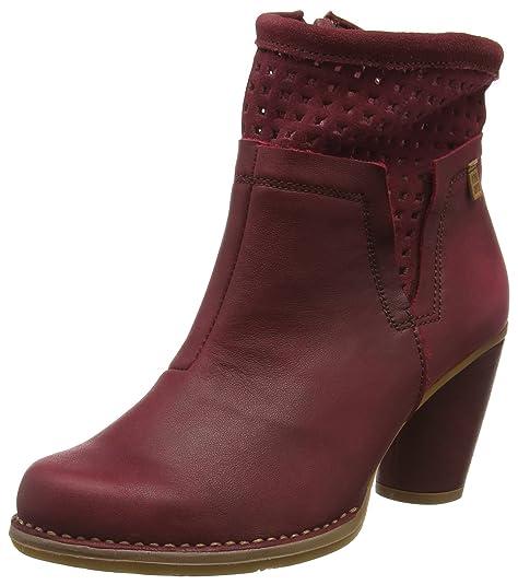 El Naturalista N495 Ibon-Lux Suede Colibri, Botines para Mujer, Rojo (Rioja), 41 EU: Amazon.es: Zapatos y complementos
