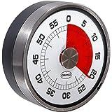 Retro Eieruhr / Küchentimer TACHOMETER grey