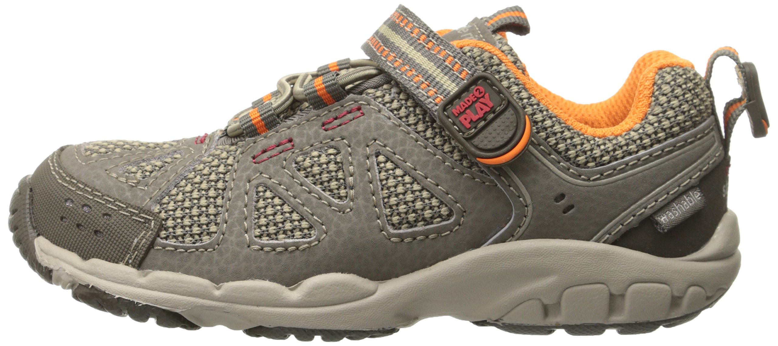 Stride Rite Made 2 Play Baby Ian Sneaker (Toddler),Taupe,4.5 XW US Toddler by Stride Rite (Image #4)