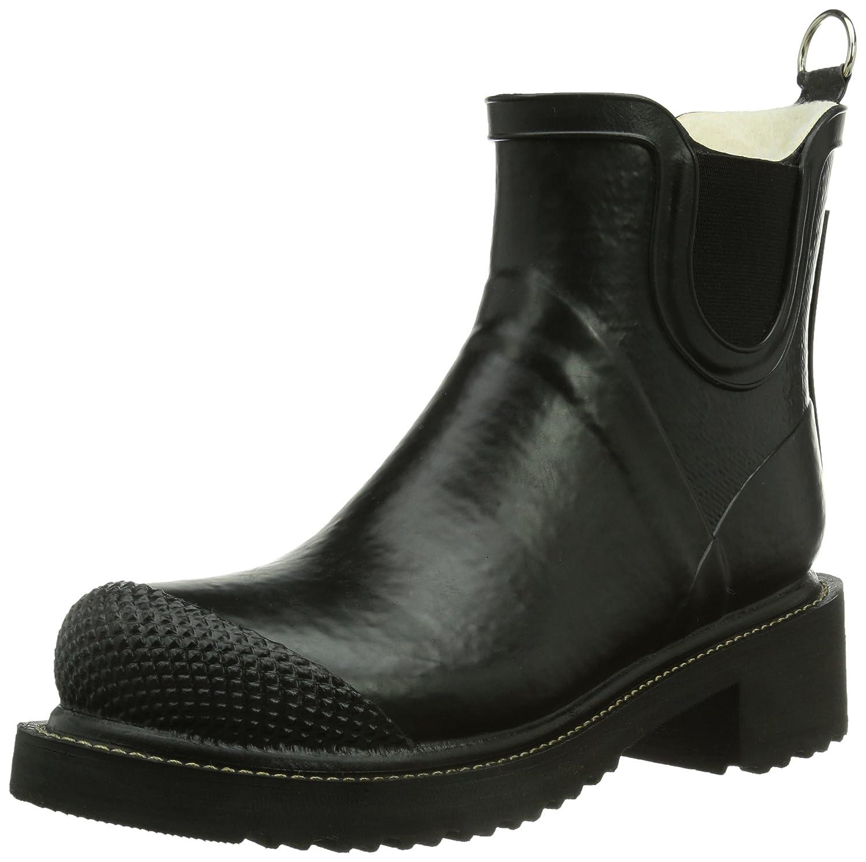 ILSE JACOBSEN Women's Rub 47 Rain Boot B00IY6JUVW 40 M EU / 10 B(M) US|Black
