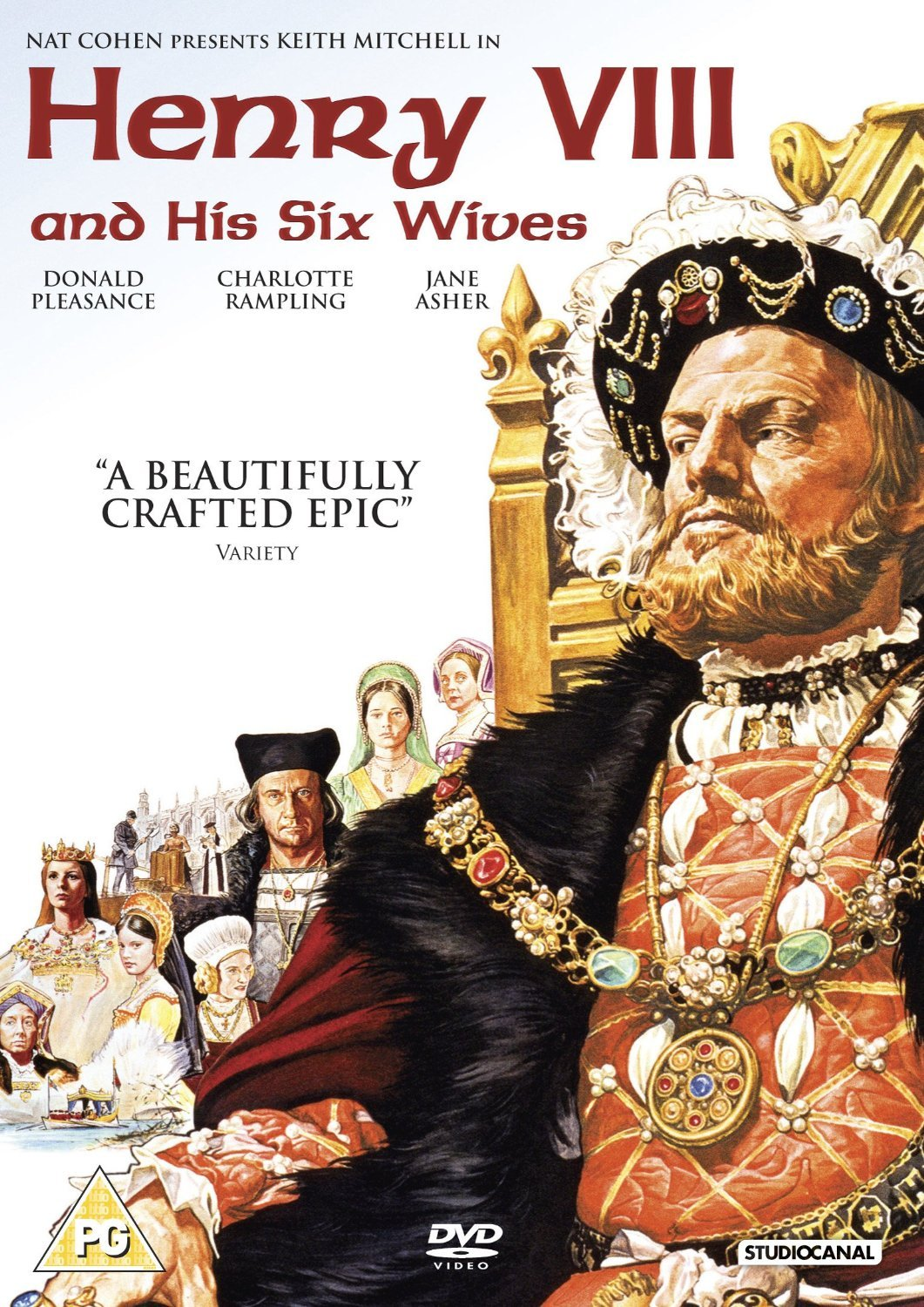 amazon com henry viii and his six wives henry 8th and his 6 amazon com henry viii and his six wives henry 8th and his 6 wives non usa format pal reg 2 import united kingdom keith michell donald