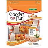 Good'n'Fun Rawhide Bones, Triple Flavor Chews, 6-Count