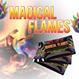 Magical Flames: Creates Colorful Flames for Wood