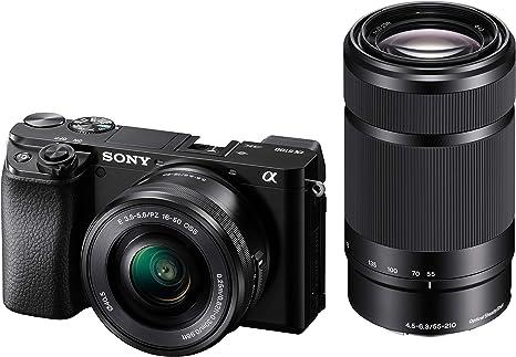 Sony Alpha 6100Y - Cámara Evil de 24.2 MP (Sensor APS-C CMOS Exmor ...