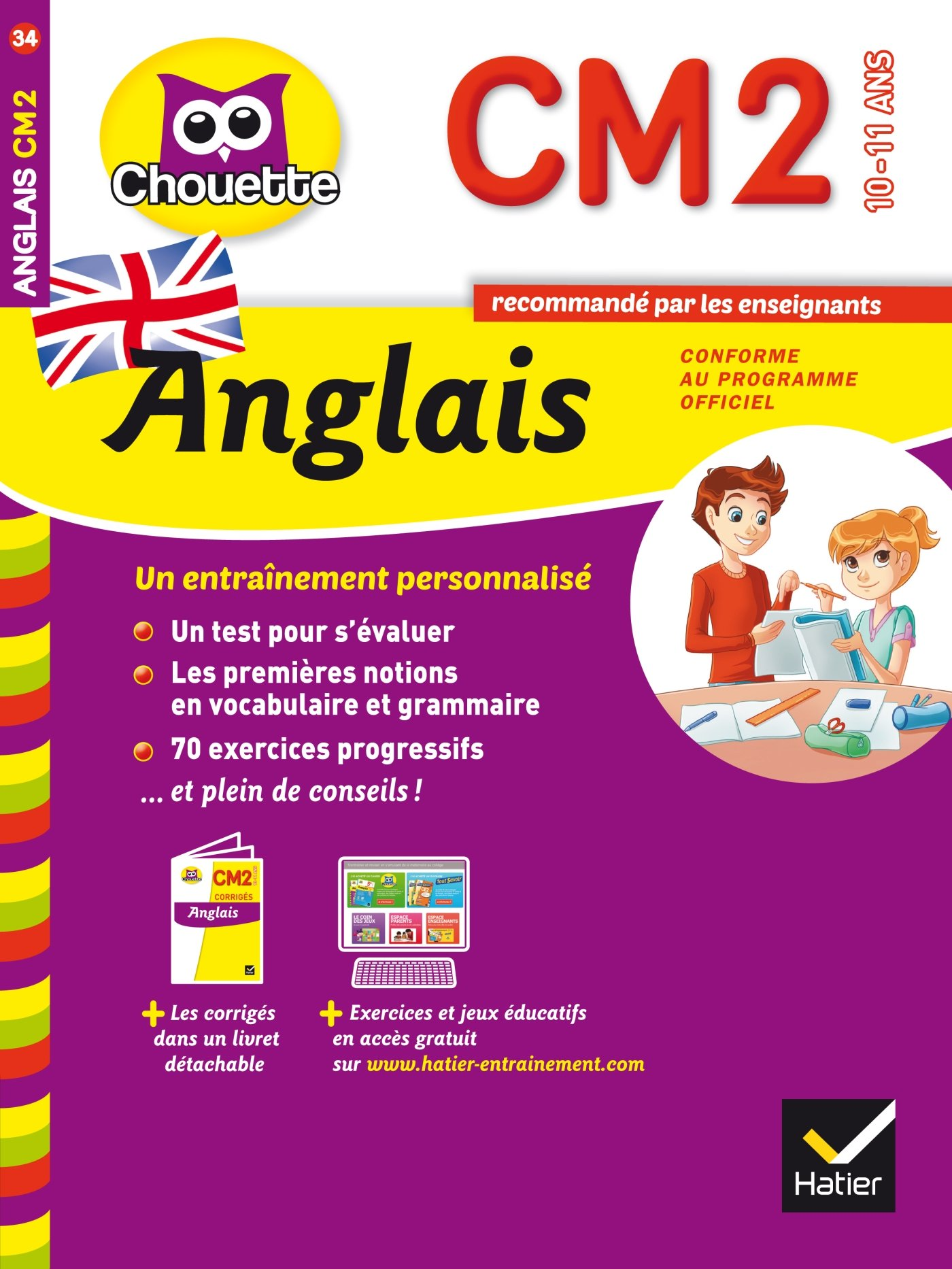 Amazon Fr Anglais Cm2 Livres