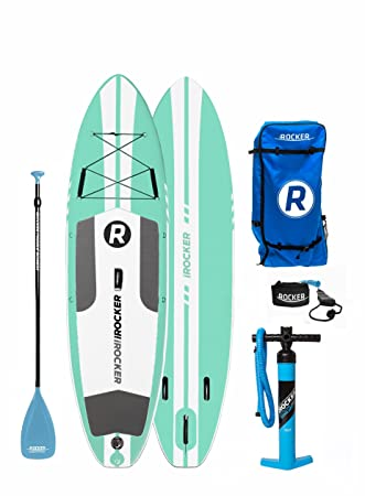 Paquete SUP de tabla de surf de remo hinchable iROCKER ALL-AROUND, 10
