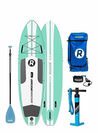 Paquete SUP de tabla de surf de remo hinchable iROCKER ALL-AROUND, 10
