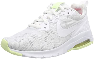 02586bc69683c Nike Women's W Air Max Motion Lw Eng Trainers, White (White/Barely Volt