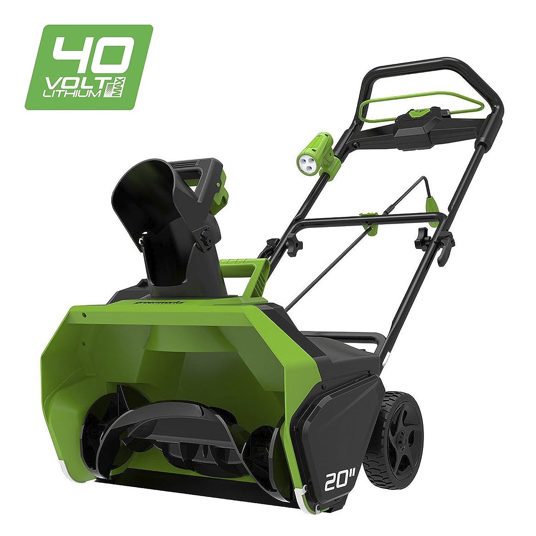 Greenworks Spazzaneve a batteria 40V al Litio (senza batteria e caricabatterie) - 2600007