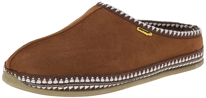 Deer Stags Men's Wherever Slip On Slipper, Chestnut, 11 W US