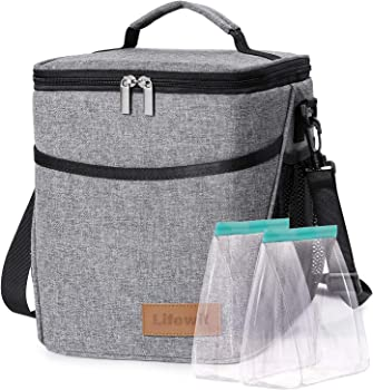 Lifewit Lunch Box for Adults Insulated Lunch Bag