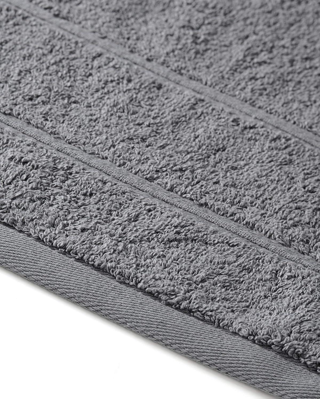 Saunahandtuch XXL Duschtuch Saunatuch und Badetuch Handt/ücher Anthrazit myHomery Handtuch Set bestehend aus G/ästehandt/ücher 2er-Set Duschtuch