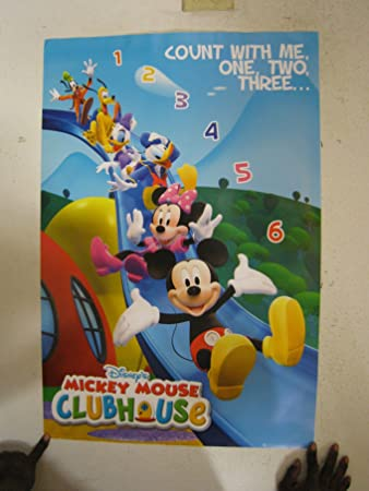 Amazoncom Mickey Mouse Disney Clubhouse New Poster Prints