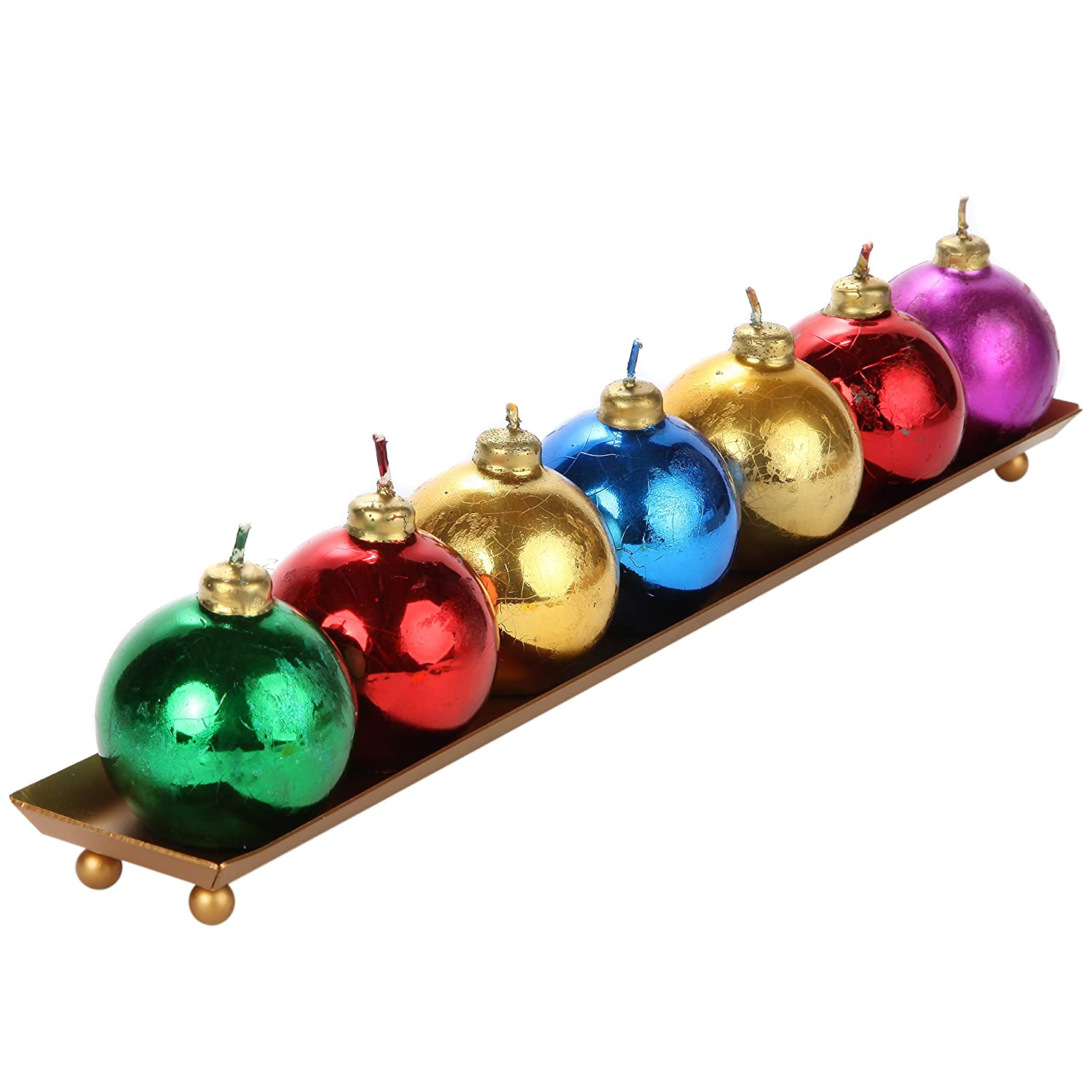 Trenton Gifts Christmas Ornament Candles