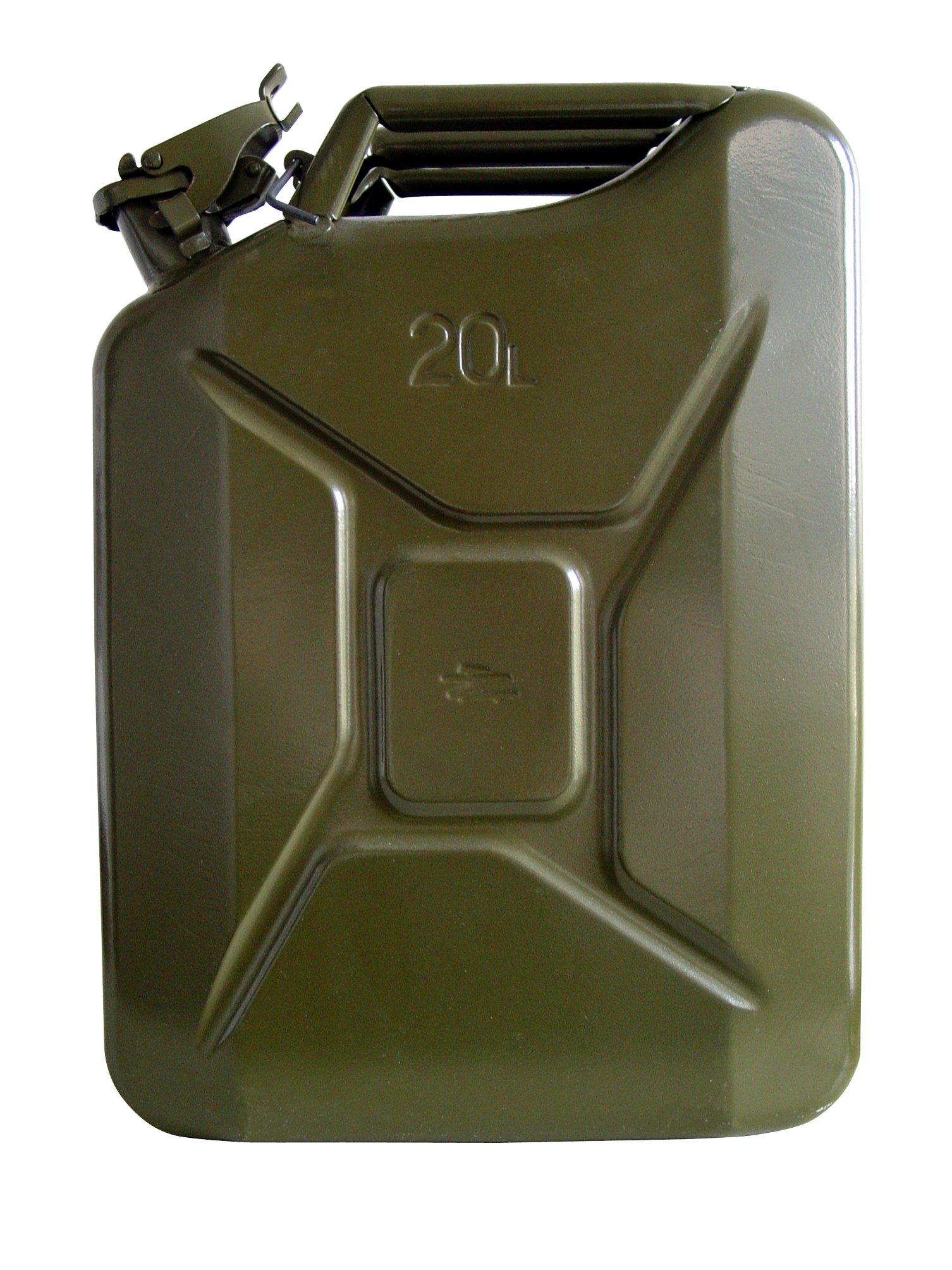 Unitec 73855 - Bidón de gasolina (20 litros, chapa de acero) product image