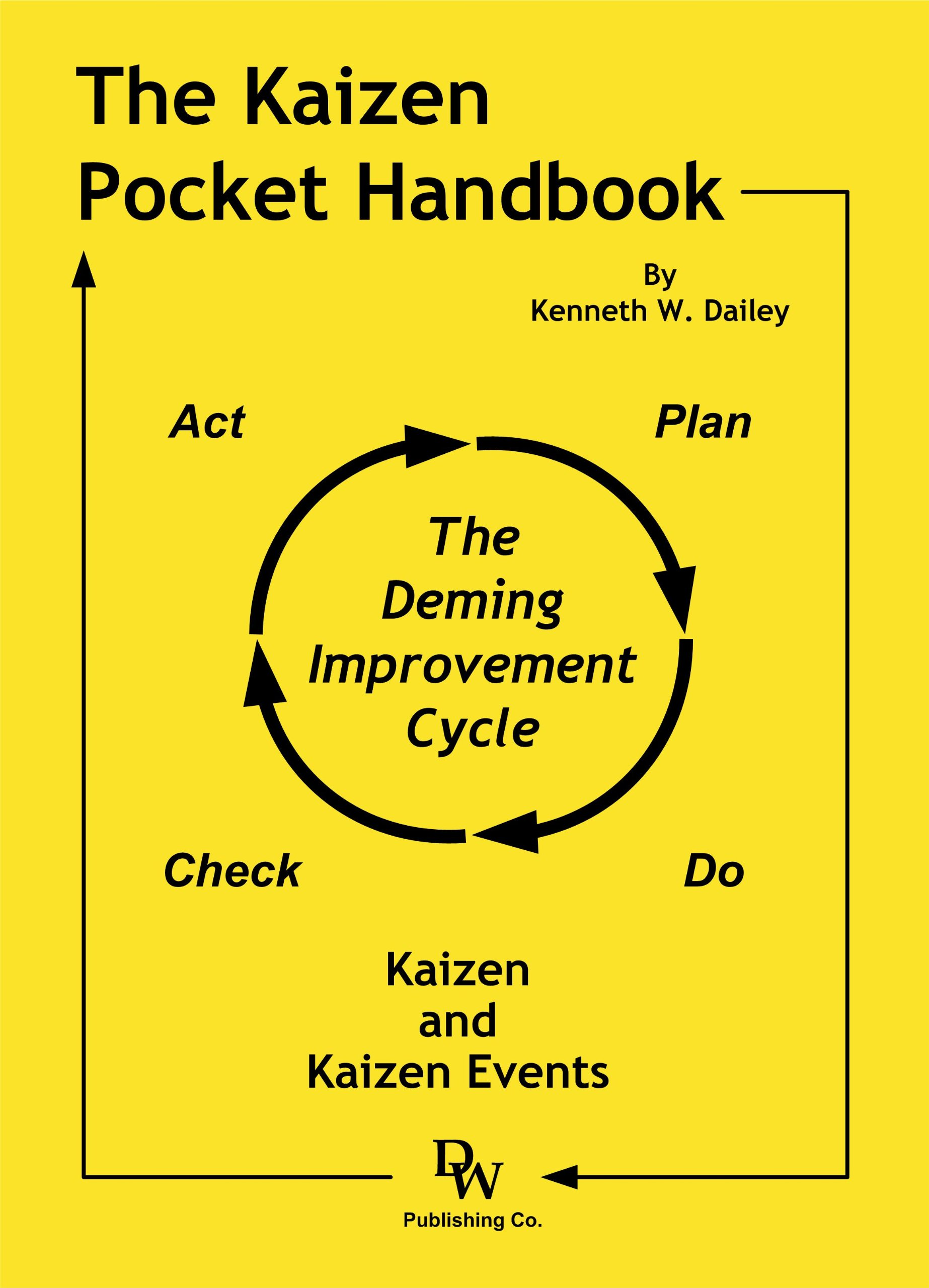 amazon the kaizen pocket handbook kaizen and kaizen events