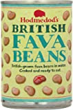 Hodmedod's Whole Fava Beans in Water 400 g (Pack of 12)