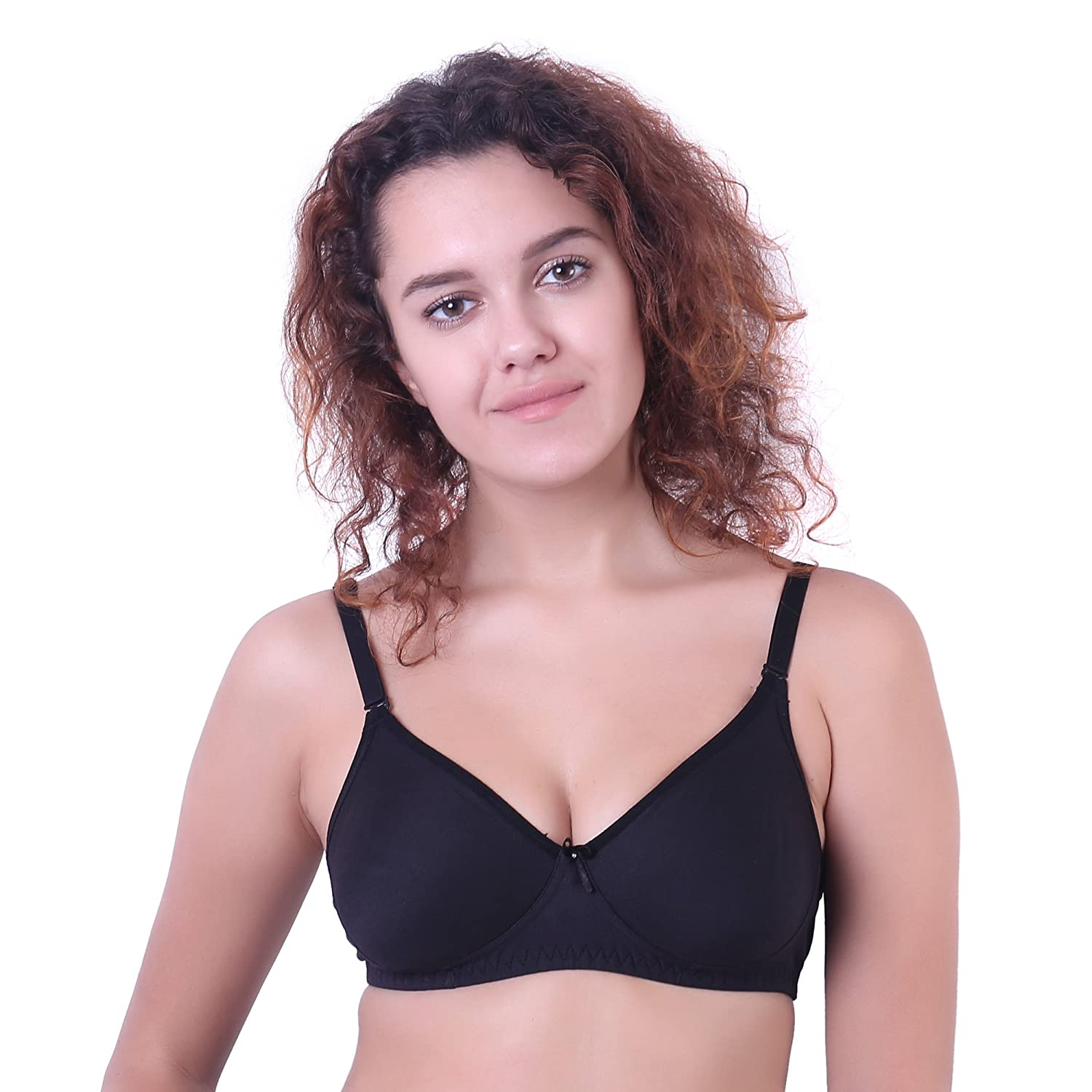 17b1f8dec71 Ossirrio Women s Cool Bra Light Padded Full Coverage Plus Size T-Shirt Bra  Comfortable Push Lingerie B