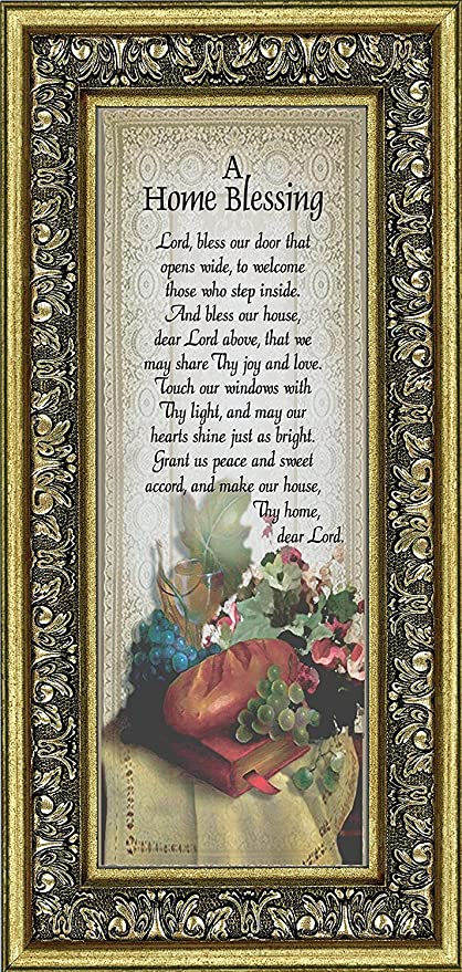 Amazon Frames Of Mind A Home Blessing God Bless This Home Sign