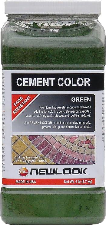 Cement Color 6 Lb Green Fade Resistant Cement Color Amazon Com