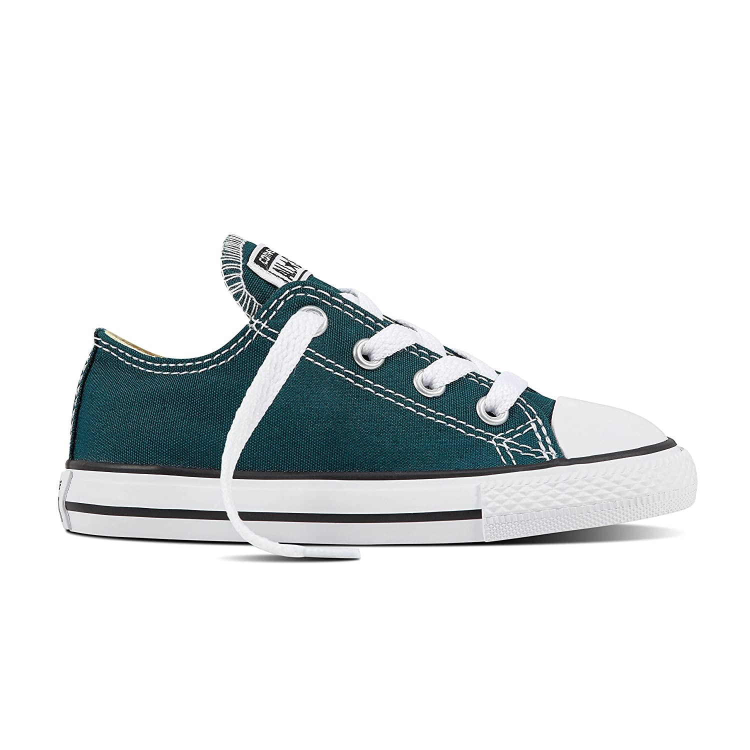 Dark Atmoic Teal Converse Unisex-Kinder CTAS-ox-Charcoal-Infant Fitnessschuhe