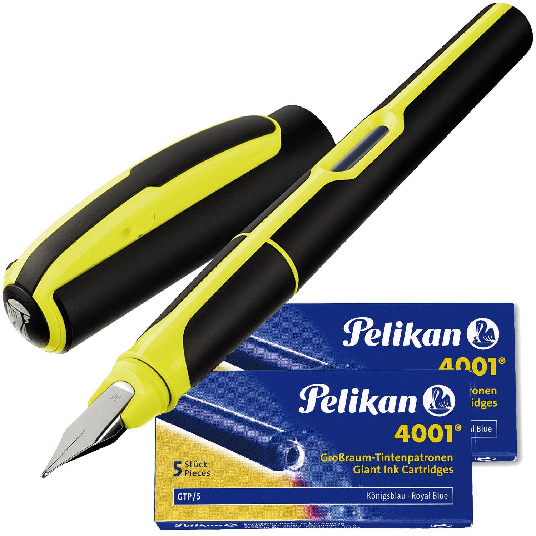 d6a30863f48 Pelikan-Stylo plume à cartouche STYLE Noir et blanc Edition Spéciale   Amazon.fr  Fournitures de bureau