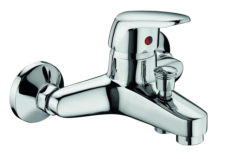 Rubinetto miscelatore per vasca, completo di accessori, serie BRIXIA art.3710 - MADE IN ITALY - GARANZIA 5 ANNI Sole rubinetterie