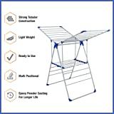 Gmison Gemisoft Cloth Dry Stand Foldable Lightweight Basic Stand With Three Way Folding (Blue)