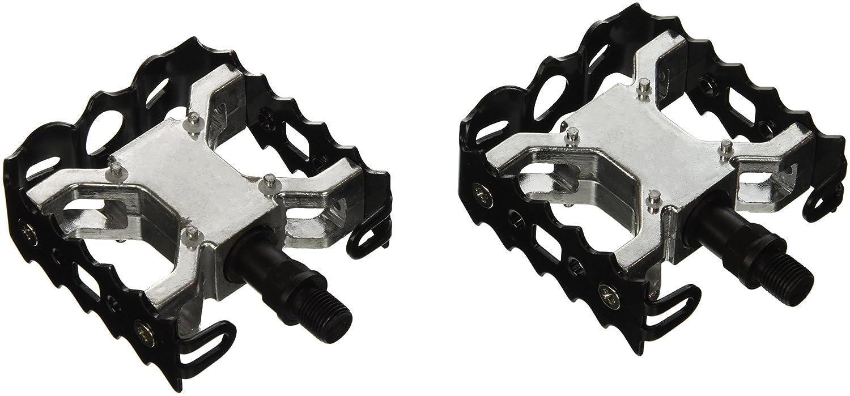 Wellgo Pedals Pedales de BMX//Freestyle Wellgo rosca fina 1//2x20