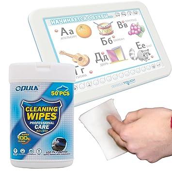 DURAGADGET Toallitas Especiales para Limpiar La Pantalla De Tablet Educa Touch: Amazon.es: Electrónica