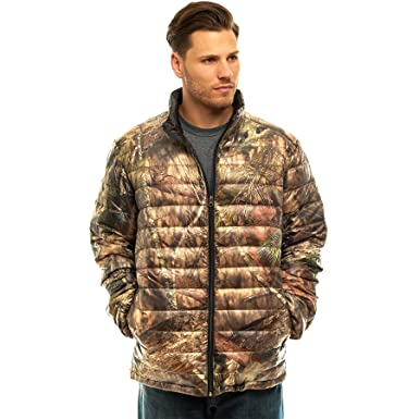 6396958f TrailCrest Men's Packable Ultra Lightweight Down Jacket, Outdoor Puffer  Coats, Mossy Oak Camo Patterns at Amazon Men's Clothing store:
