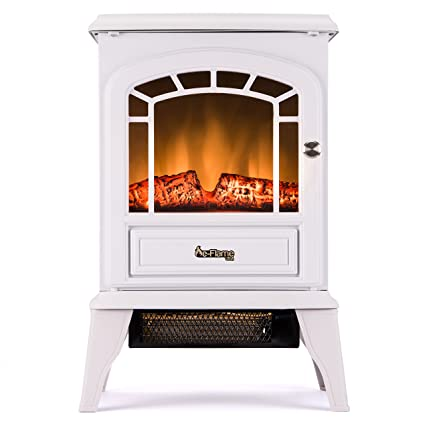 Amazon Com Aspen Free Standing Electric Fireplace Stove 22 Inch