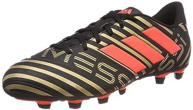 adidas Nemeziz Messi 17.4 Fxg, Chaussures de Football Homme, Noir (Cblack/Solred/Tagome Cblack/Solred/Tagome), 39 1/3 EU