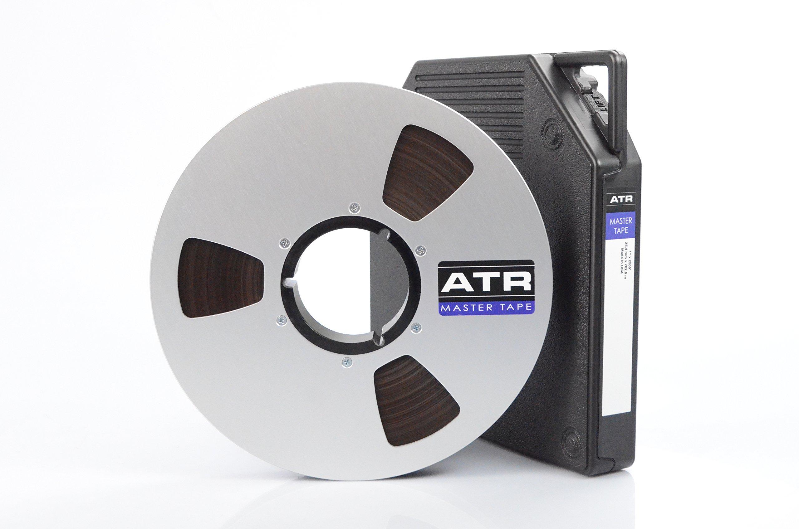 "Premium Analog Recording Tape by ATR Magnetics   1"" Master Tape - Modern Classic Sound   10.5"" Precision Reel   2500' of Analog Tape"