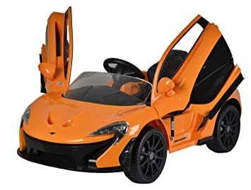 b8fba1e65f67 Ricco McLaren P1 Licenced 12V 7A Battery Powered Kids Electric Ride On Toy  Car (Model