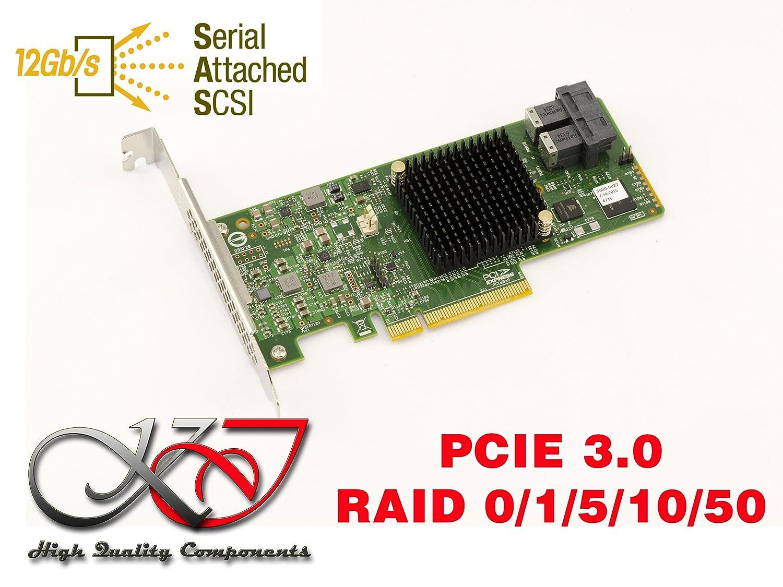 KALEA-INFORMATIQUE. Tarjeta controladora PCIe 3.0 SAS + SATA 12 GB ...