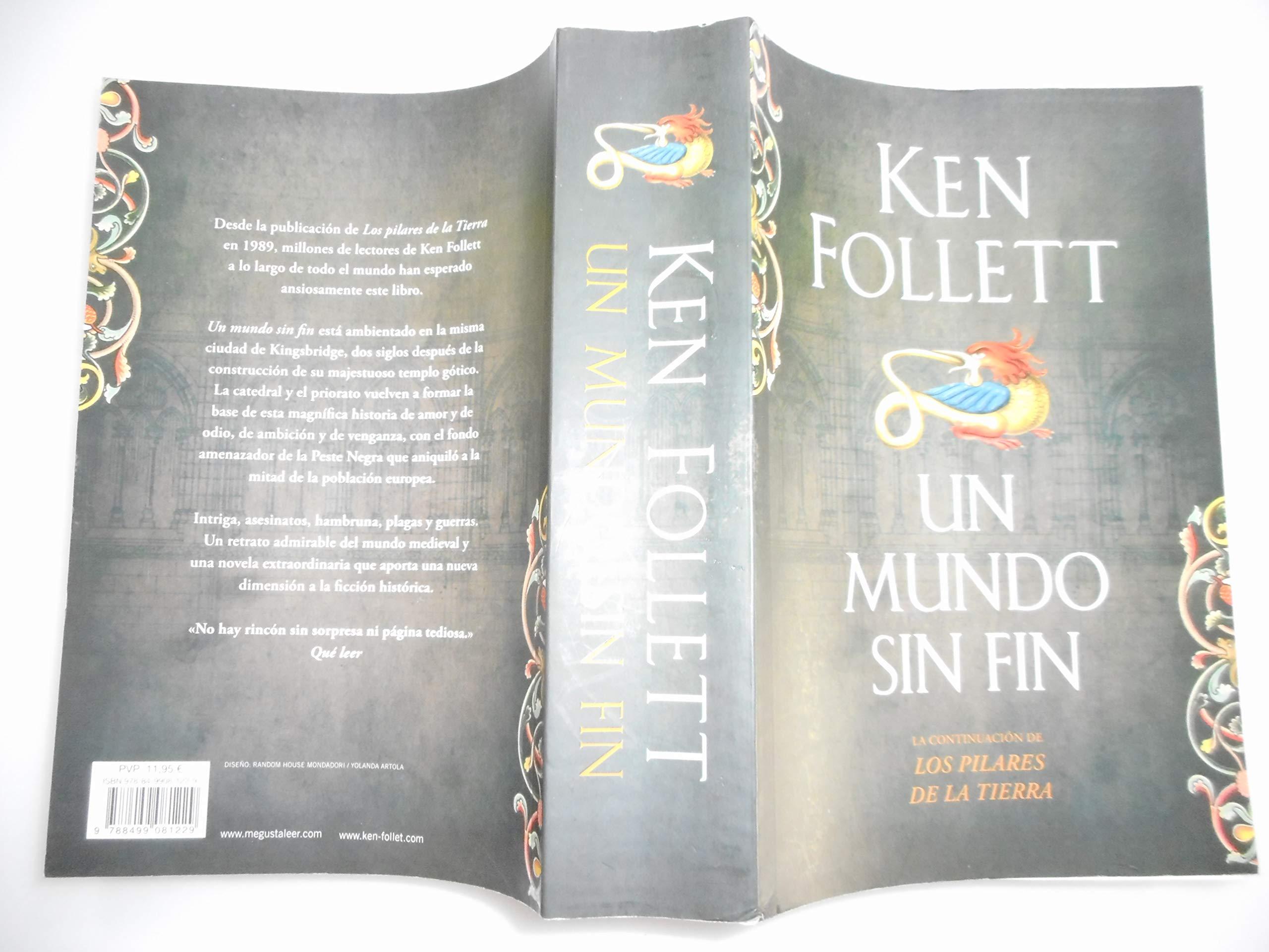 Un mundo sin fin: Amazon.es: Follett, Ken (1949-) : Libros