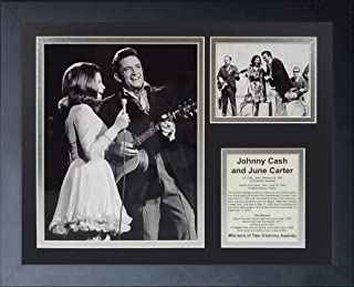 Legends Never Die'Johnny Cash and June Carter' Framed Photo Collage, 11 x 14-Inch