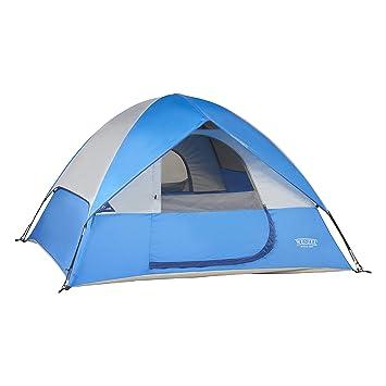 Wenzel Ridgeline Family Tent Blue 3 Person  sc 1 st  Amazon.com & Amazon.com : Wenzel Ridgeline Family Tent Blue 3 Person : Sports ...