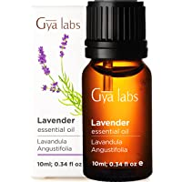 Gya Labs Lavender Essential Oil For Stress Relief, Sleep and Relaxation - Topical For Dry Skin and Irritation - Inhale…
