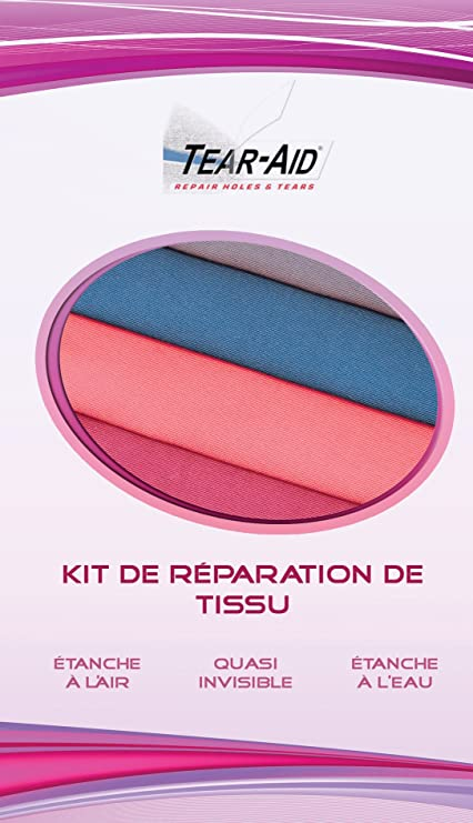 Gore-Tex Repair Patch en tissu Bleu Pack de 4