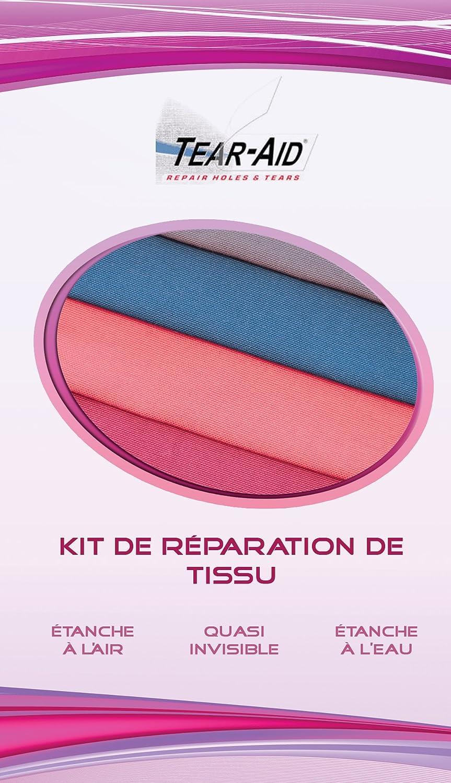 Kit di montaggio per riparazione attuale e Senza colla Tessuto (nylon, Cotone, dacron, cordura, cuteme, Gore-Tex, sympatex, Scaldapolso in, gomma, ecc.) Tear-Aid TA-RP-05