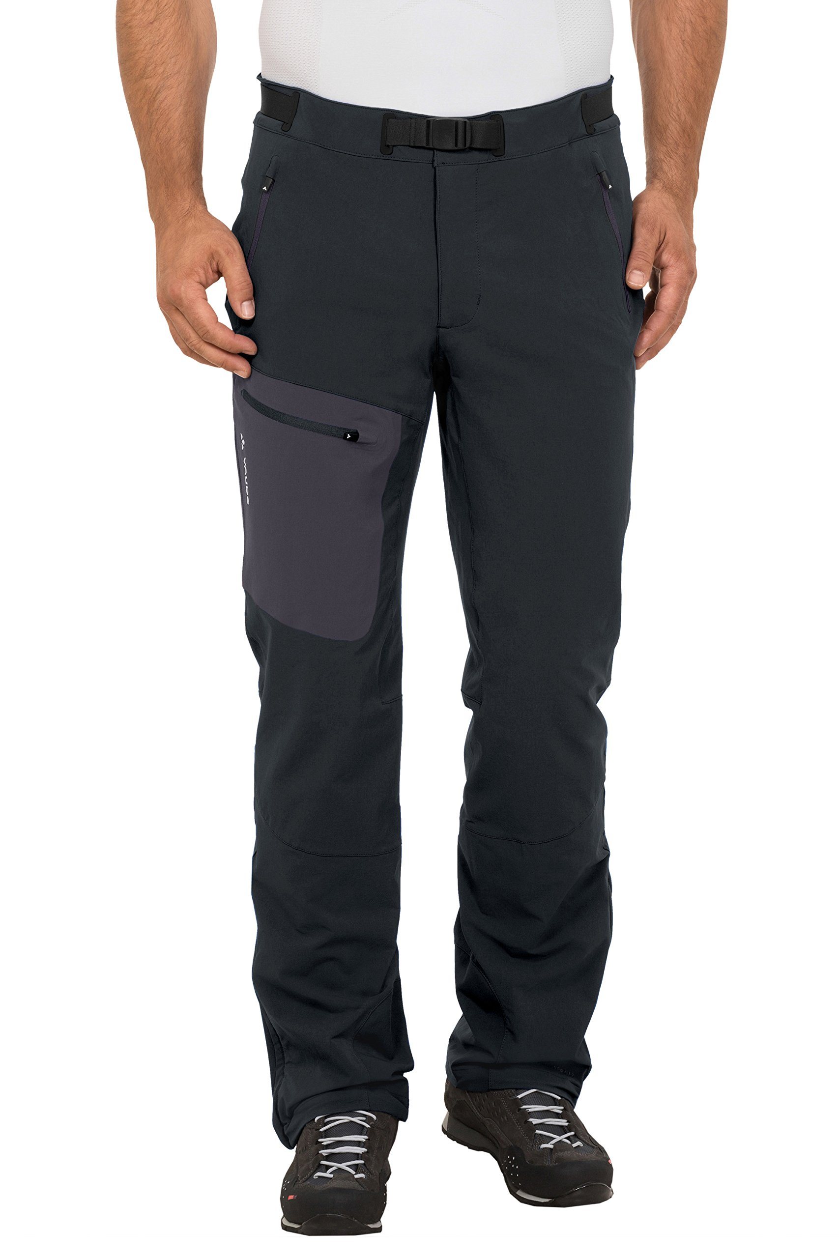 VAUDE Men's Bail II Pants, Black, Size 46