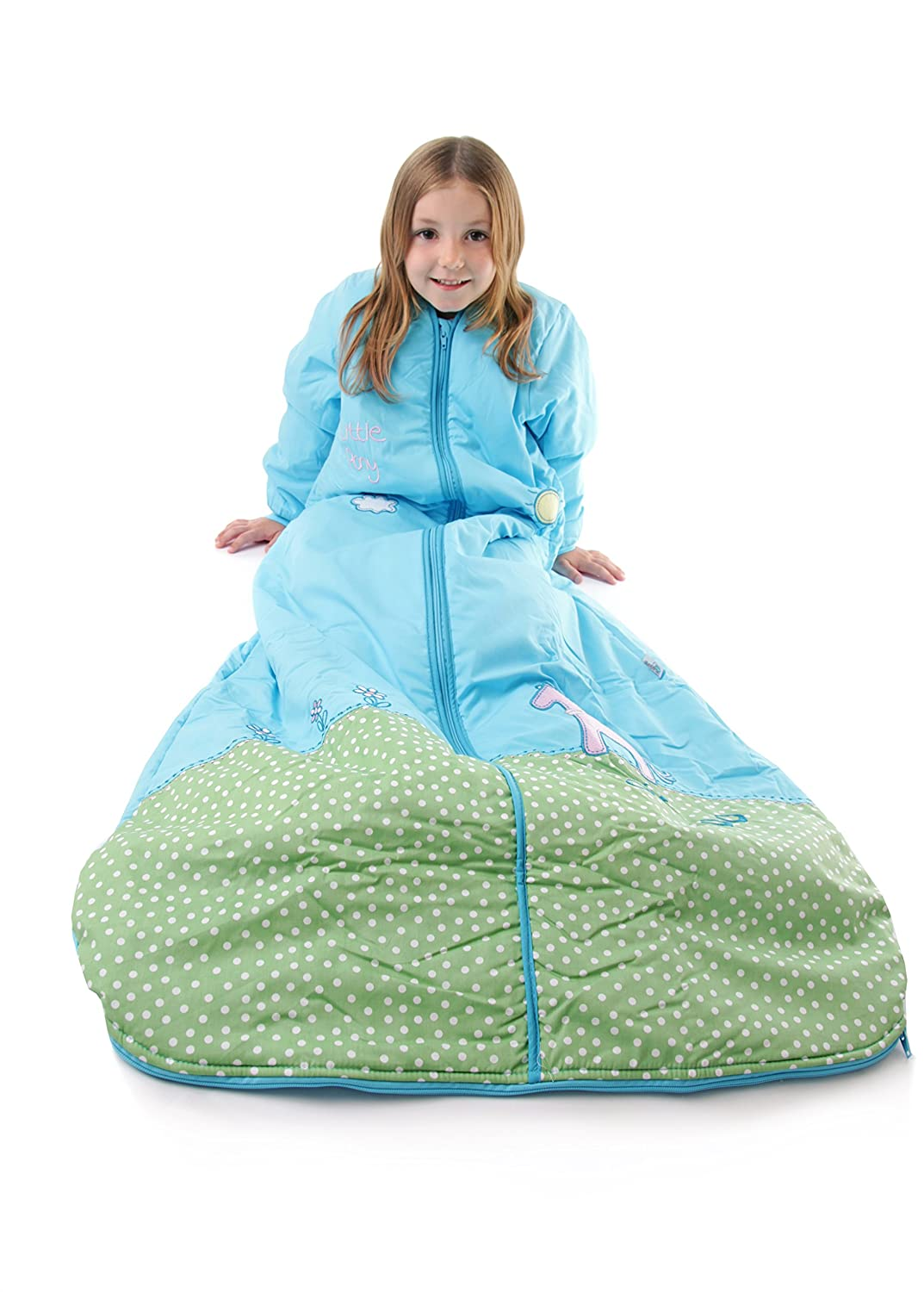 Amazon.com: Slumbersafe Winter Toddler Sleeping Bag Long Sleeves 3.5 Tog - Pony, 18-36 months/LARGE: Baby